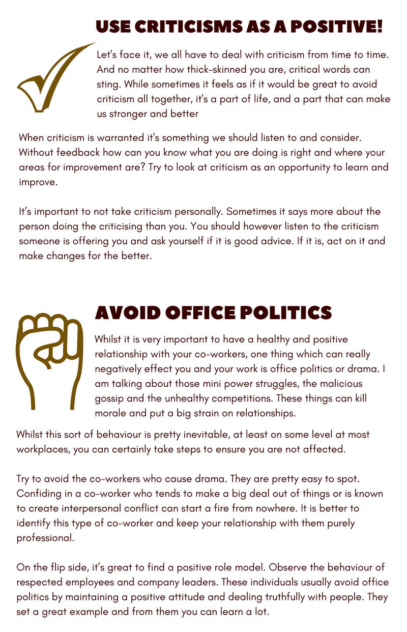 5 ways to be more positive at work
