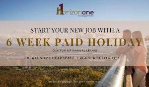 Start your new job with a 6 week paid holiday.com