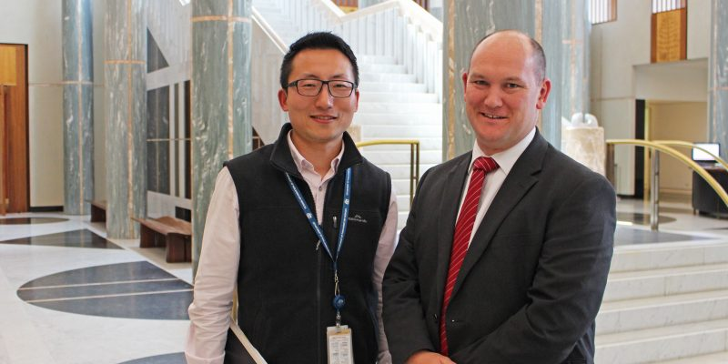 September Contractor of the Month - HorizonOne Recruitment Kevin Shen Capital Works Project Manager Department of Parliamentary Services