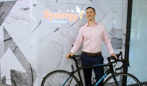 Workplace Riding Culture Perfect Fit for Prizewinner! Jonathon Coe Synergy Australia wins Trek Domaine SL-5 CPA Congress Canberra