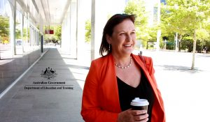 Are you a CFO of the future? Kym Partington Deputy CEO Department of Education partnering with HorizonOne Recruitment Canberra Budgeting Team