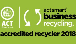 ACTSmart Business Recycling Accreditted Recycler HorizonOne Recruitment