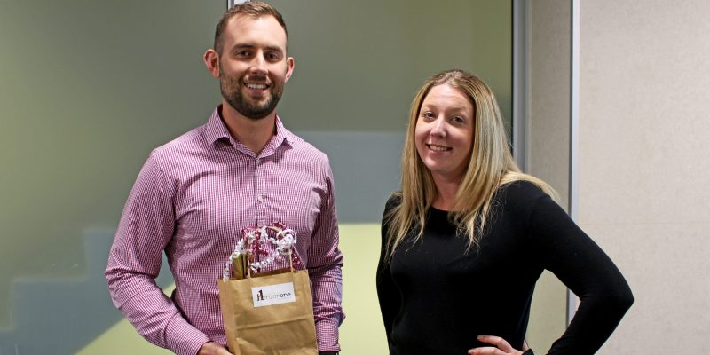 HorizonOne January 2019 Contractor of the Month - Caleb Albrecht. Consultant Sarah Tamasi