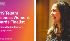 A big congratulations to HorizonOne Marketing Manager, Fiona Grimmer who has been named as a finalist for the 2019 Telstra Business Women's Awards. ACT Emerging Leader March 2019.