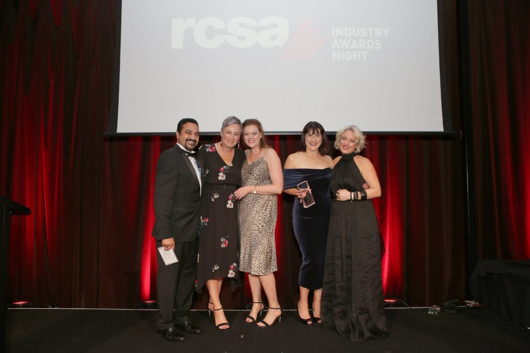 RCSA Operational Excellence Winners, HorizonOne Scribing & Campaigns Team