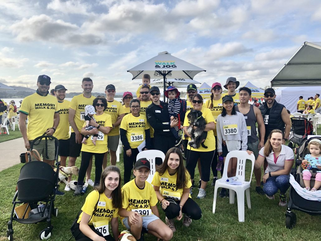 The HorizonOne team gathered on the shores of Lake Burley Griffin at Regatta Point to take part in the Dementia Australia Memory Walk & Jog, raising important funds and awareness for Dementia Australia.